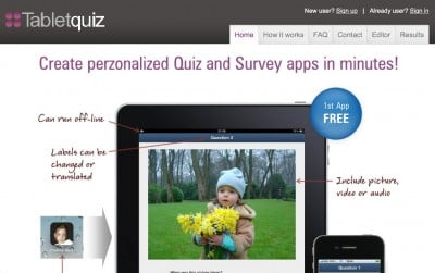 Create Personalized Quizzes And Surveys With Tabletquiz