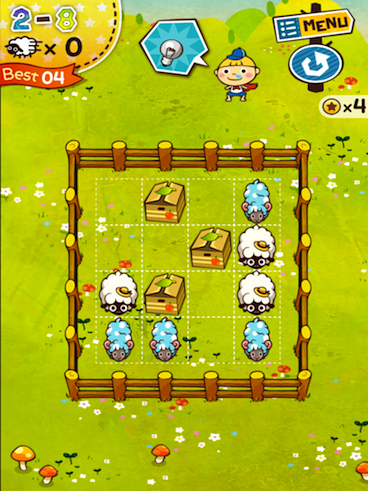 When Sheep And Puzzles Collide You Get Flick Sheep! HD