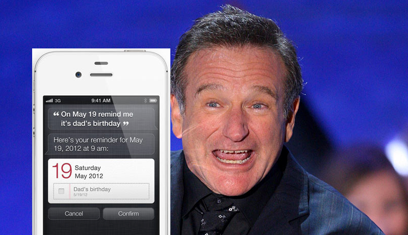 Robin Williams Discusses Siri With Ellen DeGeneres
