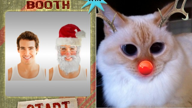 A Chance To Win Santa Booth For iPhone