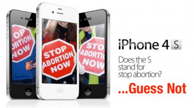 Siri's No Longer Pro-Life, Or So It Seems