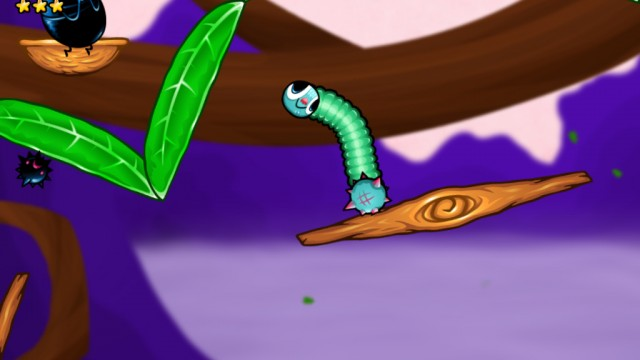 Swing Into Action In 10ton's Latest Physics Platformer, Swingworm
