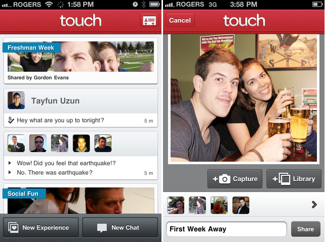 TextNow And PingChat! Creator Wants To Touch You With A New Social Networking App