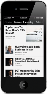 Our Favorite iOS Personalized Magazine, Zite, Comes To The iPhone