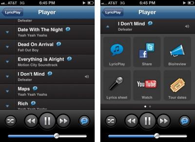 Shazam Launches Shazam Player - Includes Lyrics Support For Music Library