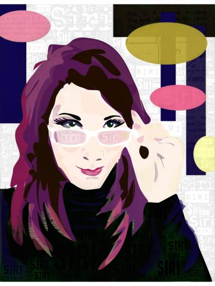 Portrait of Siri by Rita Flores, Florida, United States