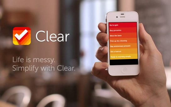 Task Management Gets Simplified With Clear, A New App Coming Soon