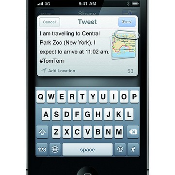 CES 2012: TomTom Adds Social Networking To Navigation System