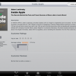 Adam Lashinsky's Inside Apple Hits The iBookstore, Kindle Edition Available Too