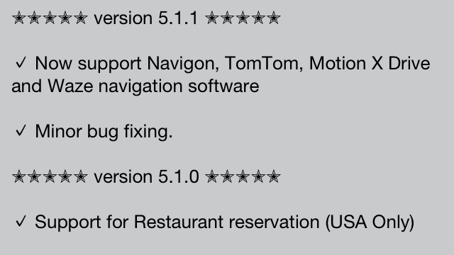 AroundMe Updated: Adds Support For TomTom, Navigon, MotionX, Waze