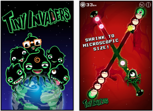 Tiny Invaders Gets Additional Content, Free Version Hits App Store