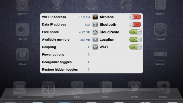 Jailbreak Only: SwitcherSettings Updated - Adds Support For iPad, iOS 5