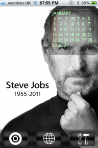 Jailbreak Only: Tribute Calendar - A Steve Jobs Tribute Hits The Cydia Store