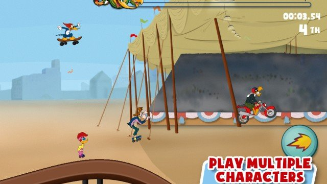 Woody Woodpecker Races Into The App Store - New Universal App Available Now