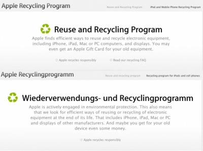 Apple Launches Its iOS Device Recycling Program In UK, France And Germany