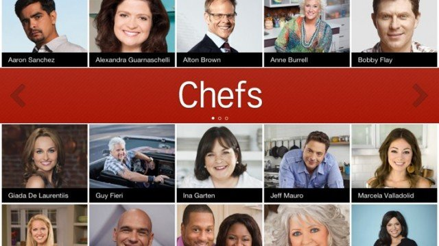 Food Network's iOS App Updated: New UI, Improved Stability, User Ratings And More