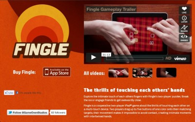 Fingle: Multiplayer Finger Gameplay At Its Best