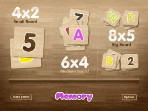 Memory: Letters and Numbers Mix by PopAppFactory screenshot