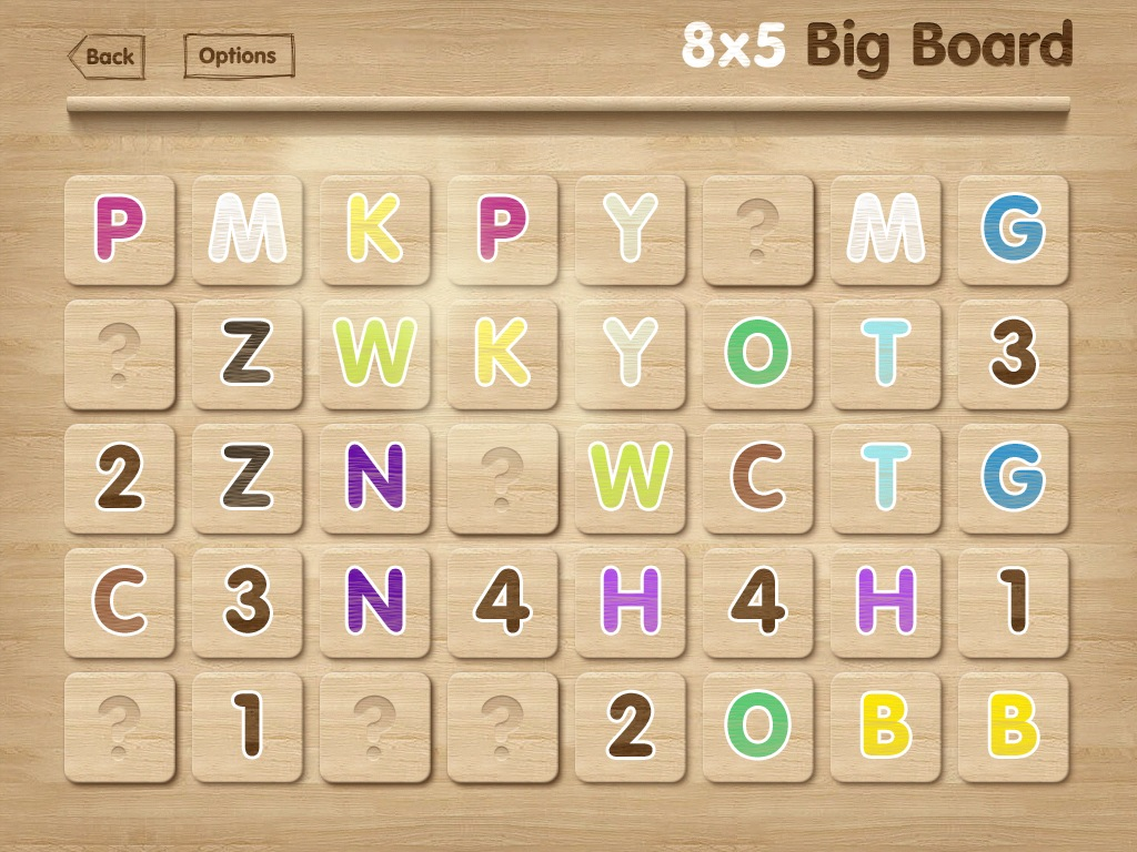 Memory: Letters And Numbers Mix Is iPad Edutainment - Plus, We've Got Promo Codes!