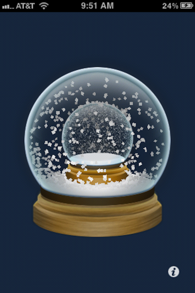 Quirky App Of The Day: Snowglobe Souvenirs