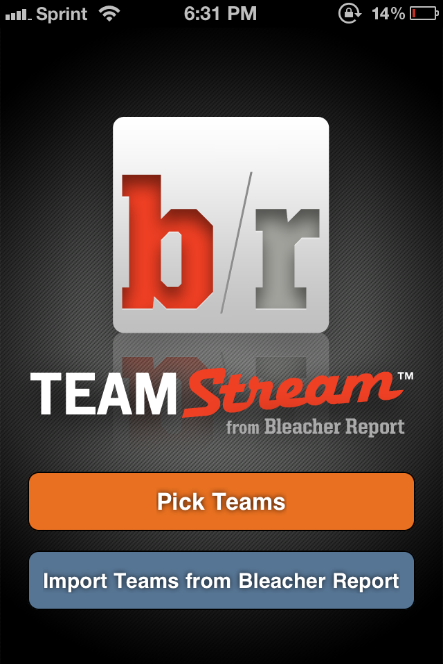 Be A Better Sports Fan With Team Stream