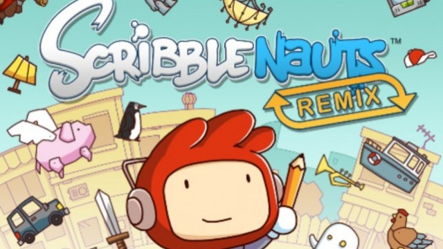 """Scribblenauts Remix"" Gets First Level Pack: 20 Boards For Just A Buck"