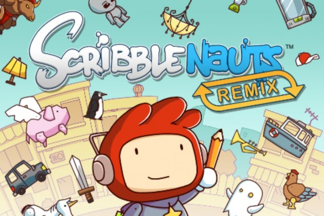 """""""Scribblenauts Remix"""" Gets First Level Pack: 20 Boards For Just A Buck"""