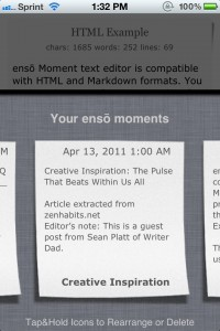 enso Writer by knowtilus screenshot