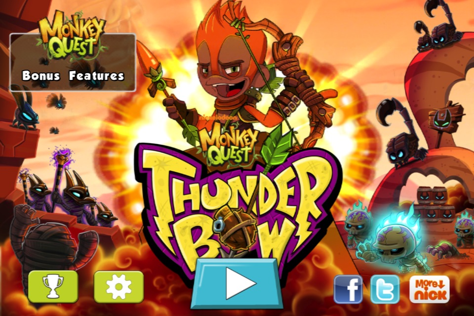 It's Time For This Monkey To Blow Everything Up In Monkey Quest: Thunderbow