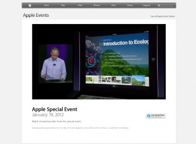 Apple's Education Event Now Available For Streaming