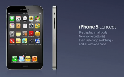 Another iPhone 5 Concept Video: Full Control With One Hand