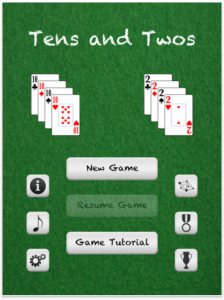 Tens and Twos by Bobby Rohweder screenshot