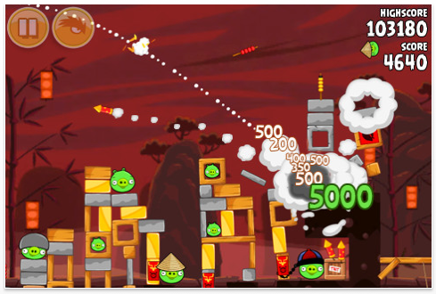 Fireworks, Dragons Aplenty In Angry Birds Seasons