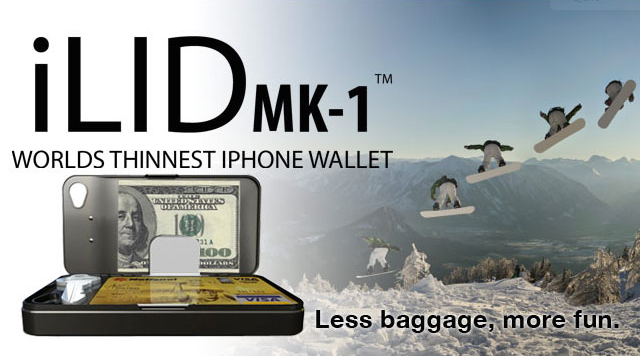 "Macworld 2012: iLID MK-1 Is The ""World's Thinnest"" iPhone Wallet"