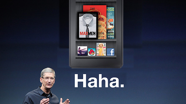 "Tim Cook Unmoved By Potential Kindle Fire ""Threat"""