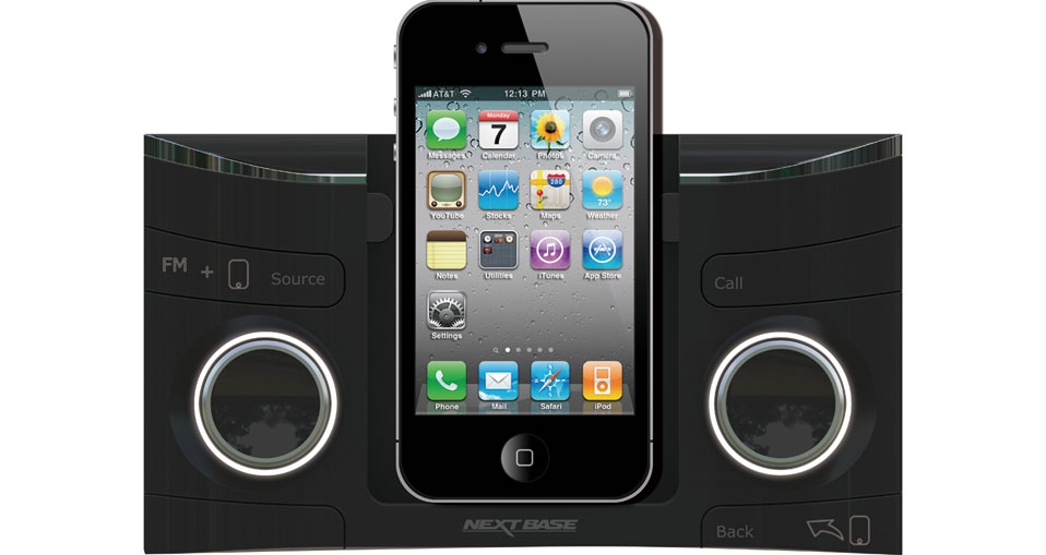 CES 2012: Get On The Road To Happiness With Face Off In-Dash Car Mount For iPhone!