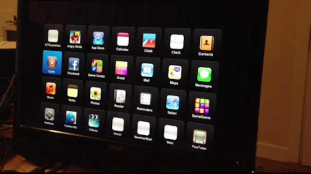 Hackers Show Off Jailbroken Apple TV App Launcher