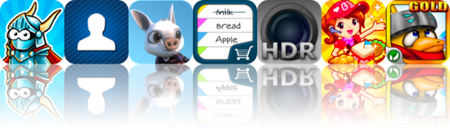 iOS Apps Gone Free: Tiny Heroes, Hogworld, HDR Fusion, And More