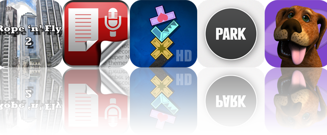 iOS Apps Gone Free: Rope'n'Fly 2, Super Note, Perfect Balance HD, And More