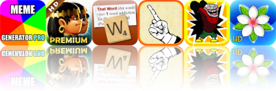 iOS Apps Gone Free: Meme Generator Pro, Babylonian Twins HD, That Word, And More