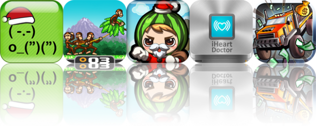 iOS Apps Gone Free: TextPics, Monkey Flight, Fruit Heroes, And More