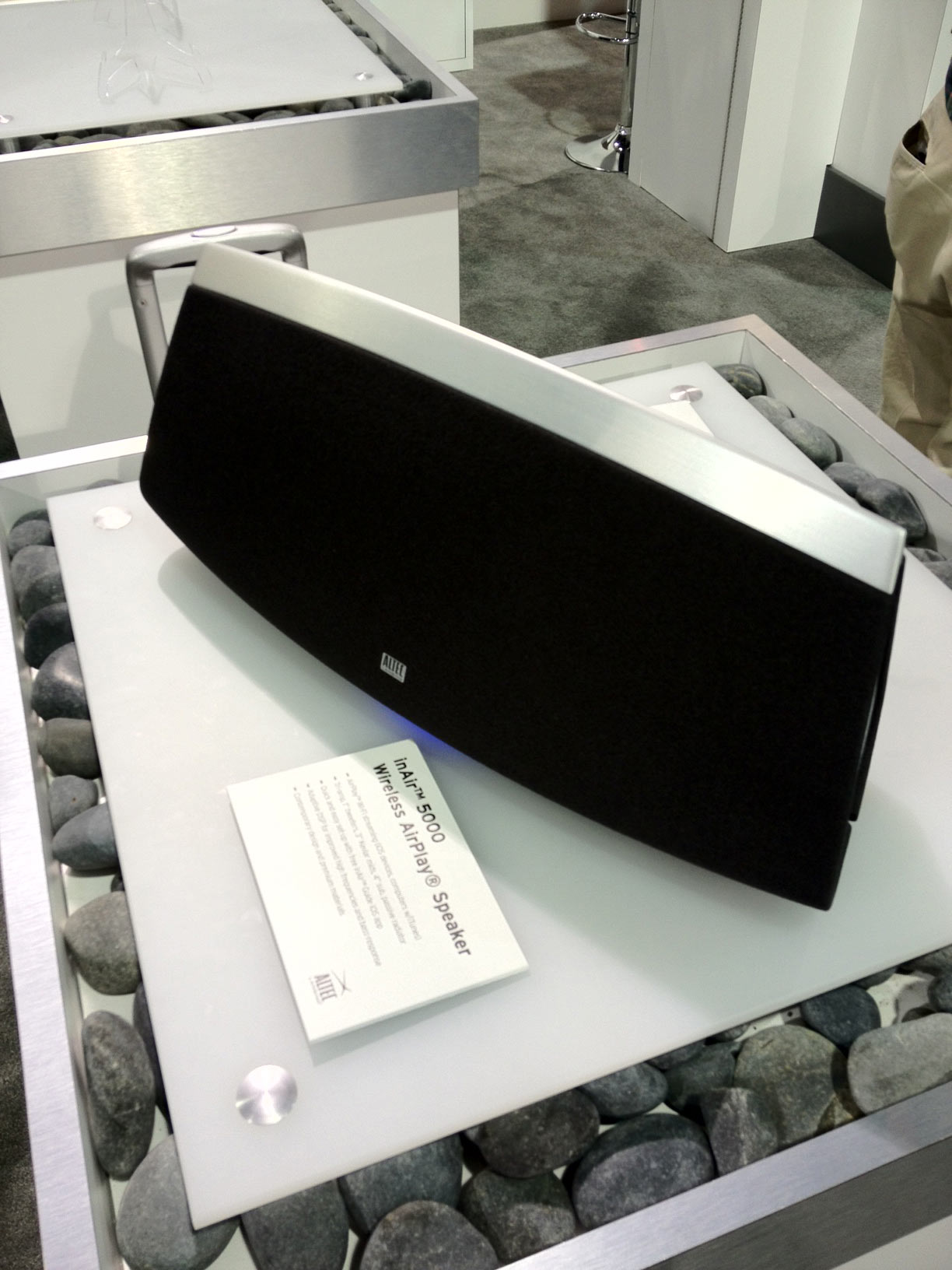 CES 2012: Check Out This Gorgeous AirPlay Speaker From Altec Lansing