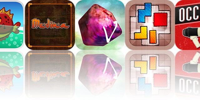 iOS Apps Gone Free: Medina, Occupy, Hedgehog Adventure HD, And More
