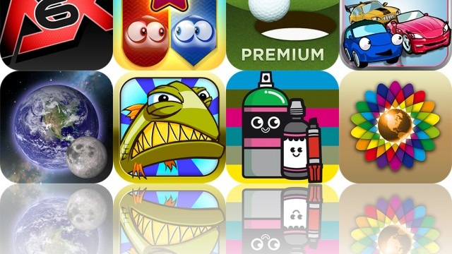 iOS Apps Gone Free: Mobitee Golf Assistant, Stop Those Fish, Weby, And More