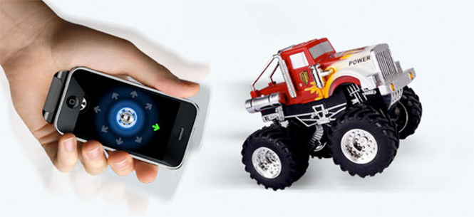 CES 2012: Dexim Provides Show Attendees With A Look At Their iOS-Controlled Monster Truck