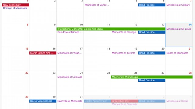 Readdle Streamlines The User Interface Of Their Google Calendar Client App In v3.0