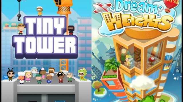 "Zynga Apes ""Tiny Tower"" With Freemium ""Dream Heights"" Title"