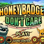 A Chance To Win The Honey Badger Don't Care For iPhone And iPad