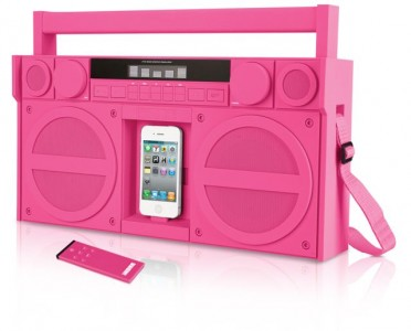 CES 2012: iHome Boombox, Docks And Alarm Clocks
