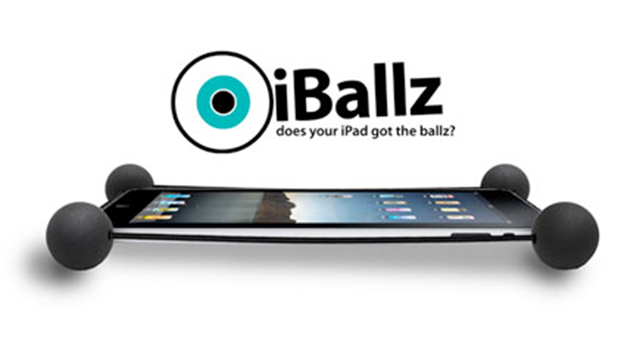 "CES 2012: Grab Your Set Of iBallz And iBallz Cases For The ""Ultimate iPad Protection"""